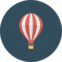 air, balloon, hot, r icon