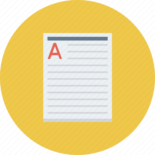 article, content, documents, files icon