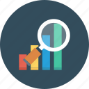 bar, chart, graph, infographics icon