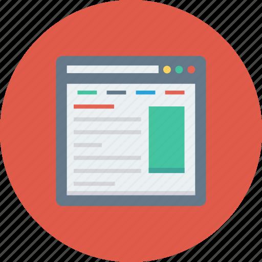 Browser, internet, web, webpage, website, window icon - Download on Iconfinder