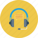 bubble, chat, customer, headphone, representative, service, support icon