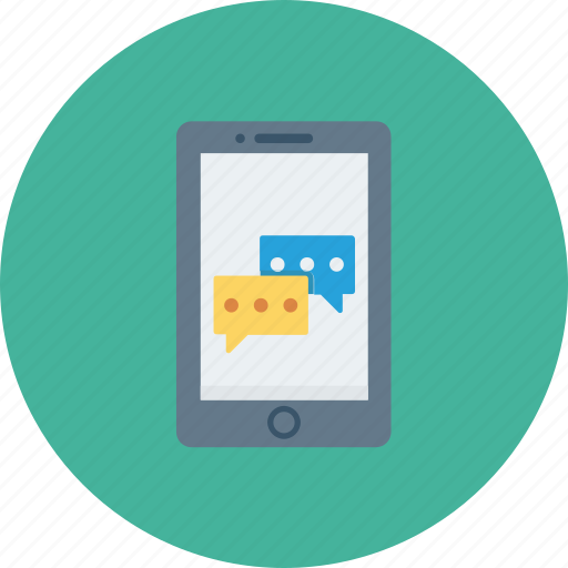 Chat, message, mobile, sms, text icon - Download on Iconfinder