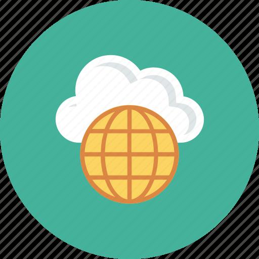 computing, global, internet, storage icon