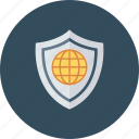 global, globe, security, with