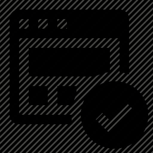 marketing, page validation, seo, verified icon