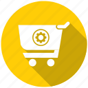 commerce, seo, seo pack, seo services, solution icon