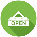 open, seo, seo pack, seo services icon