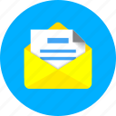 chat, communication, e, email, mail, marketing, message icon