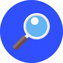 explore, glass, in, look, search, view, zoom icon