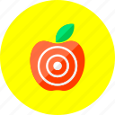 apple, location, map, market, navigation, shop, targeting icon