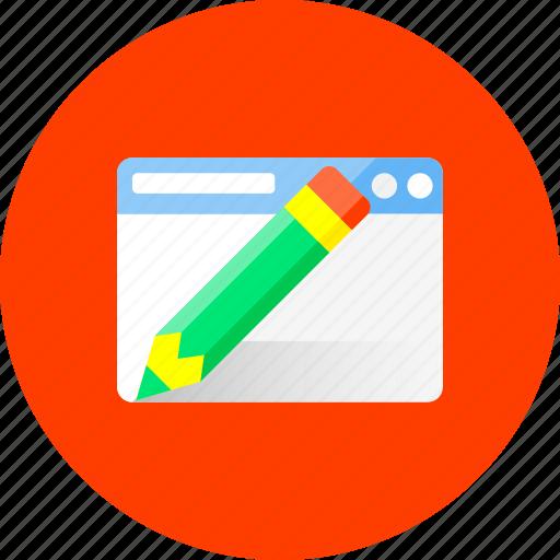 business, design, finance, graphic, network, web, write icon