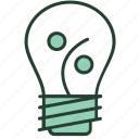 bulb, creative, idea, marketing, percentage, profit, solutions icon