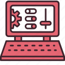 computer, configuration, control, options, preferences, seo, settings icon