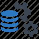 data management, management, database, setting icon