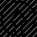 upload, update, arrow up, export