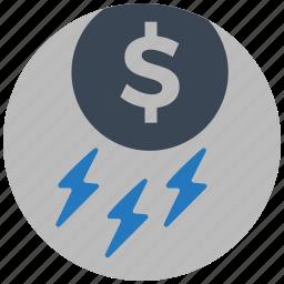 mobile marketing, money, rain, seo icons, seo pack, seo services, web design icon