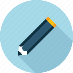 copywriting, editor, education, flat design, long shadow, text, writing icon