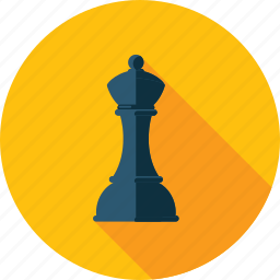 chess, flat design, game, long shadow, marketing, strategy icon