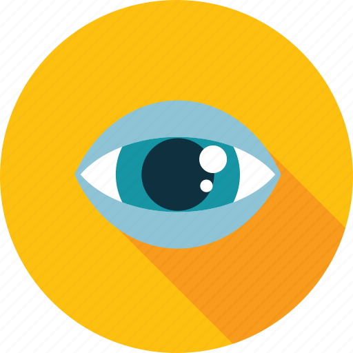 design, eye, flat design, graphic, identity, video surveillance, visual icon