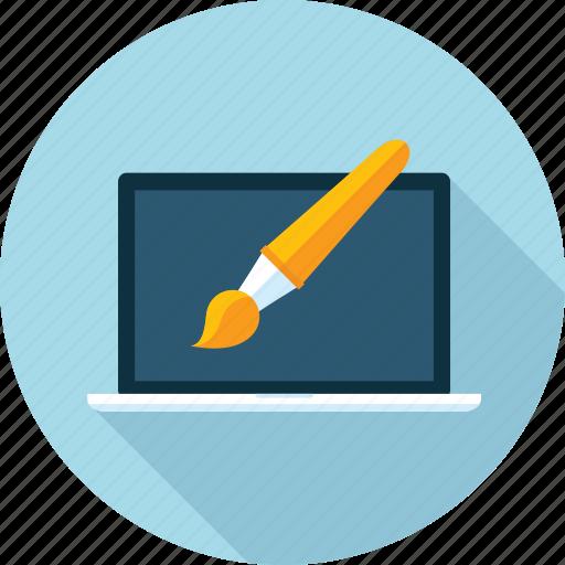 design, development, flat design, graphic, long shadow, web, website icon