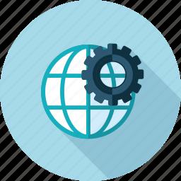flat design, internet, network, optimization, seo, web, website icon