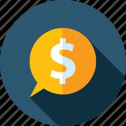 affiliate, earning, flat design, internet, long shadow, marketing, online icon