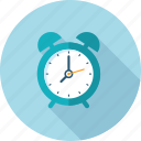 campaign, clock, flat design, long shadow, time, timing icon