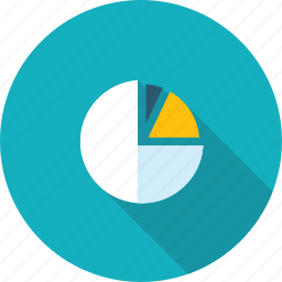 analysis, business, chart, competitive, flat design, long shadow, statistics icon