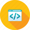 app, coding, custom, development, programming, web icon