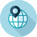 destination, flat design, gps, local, location, navigation, seo icon