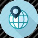destination, gps, local, location, navigation, seo icon