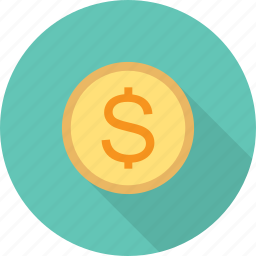 coin, dollar, seo icon