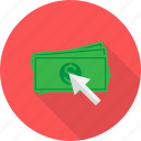 click, pay, seo icon