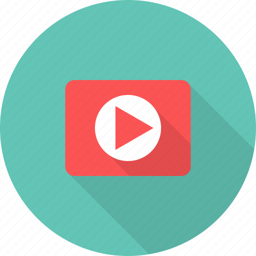 play button, video, youtube icon