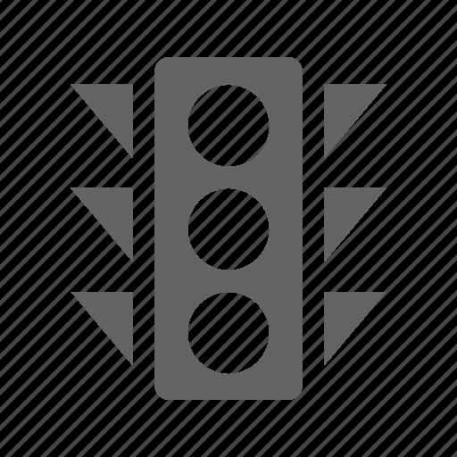 development, search, seo, solid, web, web traffic control icon