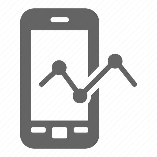 development, mobile analytics, search, seo, solid, web icon