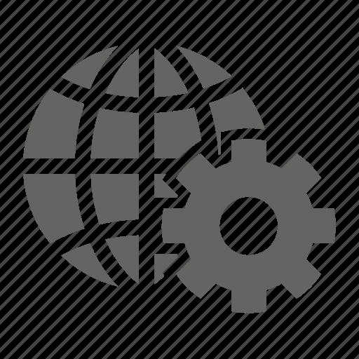 development, search, seo, solid, web, web optimization icon