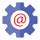 mail, seo, seo pack, seo services, seo tools, settings icon
