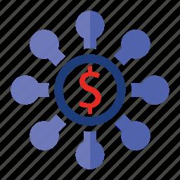 budget, organization, seo, seo pack, seo services, seo tools icon
