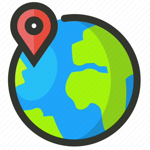 earth, local, location, seo, targeting icon