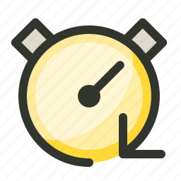 fast, instant, performance, stopwatch, timer icon