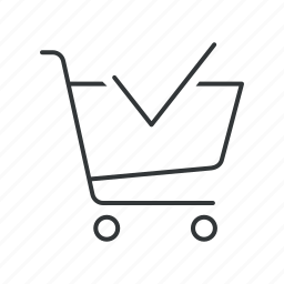 approve, buy, cart, online, shop, shopping, shopping cart icon