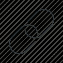 address, chain, hyperlink, internet, link, permalink, url icon