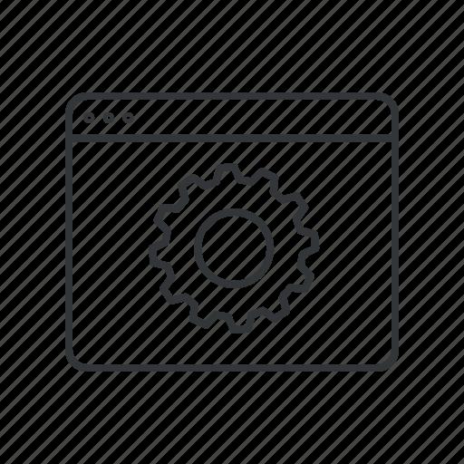 gear, network, optimization, options, seo, settings, web icon