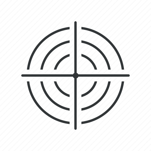aim, bullseye, center, goal, purpose, success, target icon