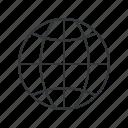earth, geo, global, globe, web, world, planet icon