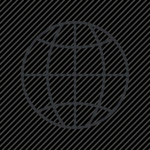 earth, geo, global, globe, planet, web, world icon