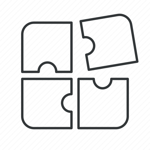 brainstorm, content, data, network, part, piece, related icon