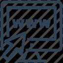 click, internet, monitor, seo, web, webpage, website