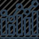 analytics, diagram, financial, report, seo, web icon